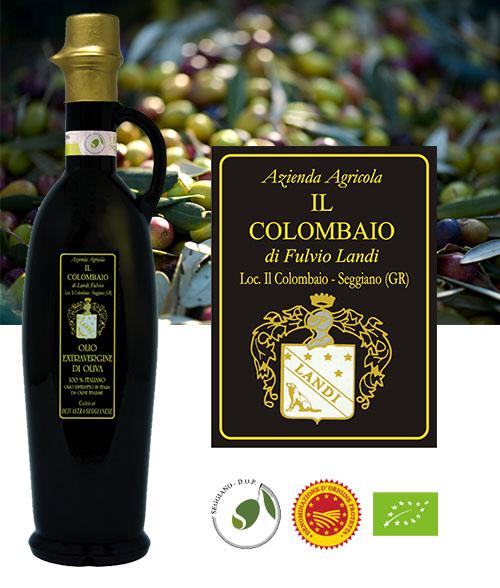 Olio extravergine di oliva seggianese Dop
